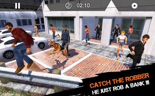 Télécharger US Police Dog Duty - Simulateur de chien 2019 apk mod screenshots 3
