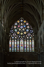 Photo: Exeter Cathedral - stained glass (Narthex). Captured @ Exeter, Devon, England, United Kingdom