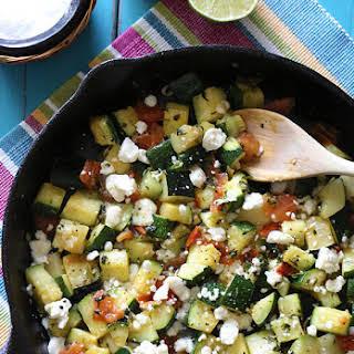 Mexican Zucchini Recipes.