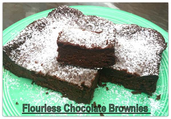 Flourless Chocolate Brownies Recipe