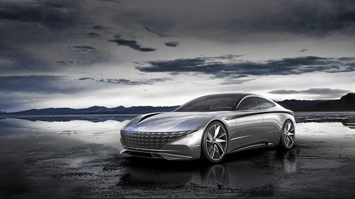 Hyundai has used its Le Fil Rouge concept to announce its new Sensuous Sportiness design language.   Picture:  NEWSPRESS UK