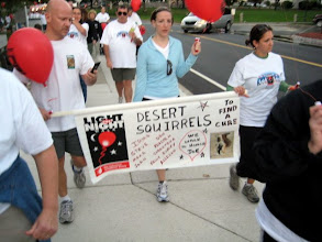 Photo: Team Desert Squirrels raised $3118 - THANKS!