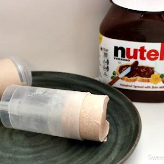 Nutella Frozen Push Ups.