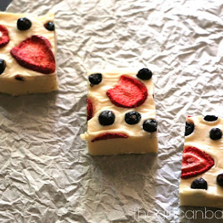 Red, White, and Blue Fudge