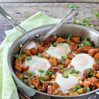 Southwest Sweet Potato Breakfast Skillet