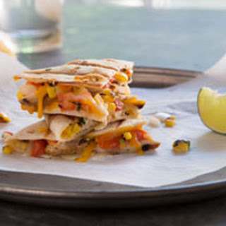 Baja Grilled Chicken Quesadillas.