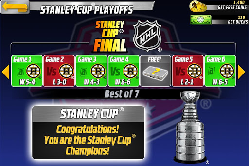 Big Win NHL Hockey screenshot 13