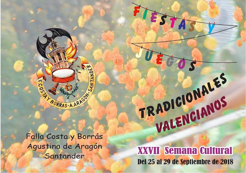 XXVII Semana Cultural. Costa y Borrás - Agustina de Aragón.