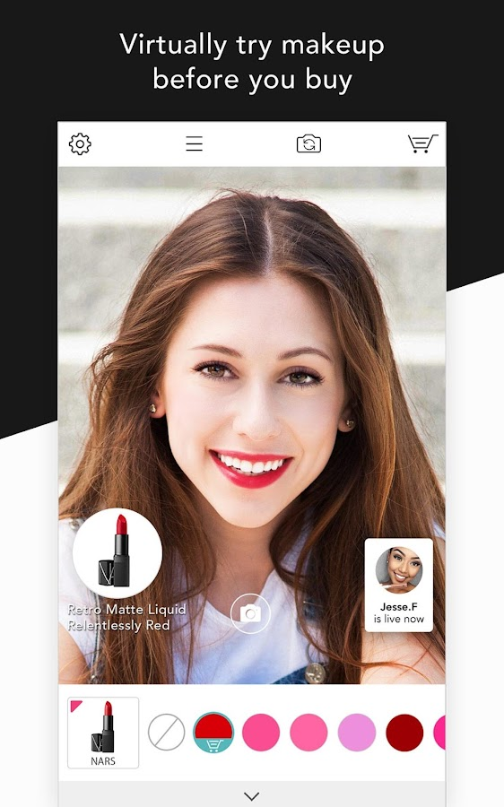 YouCam Shop - World's First AR Makeup Shopping App- screenshot