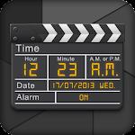 Clapperboard - Clock Widget Icon