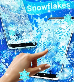 Snowflakes live wallpaper - náhled