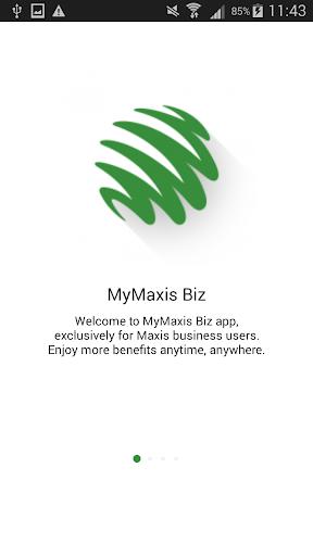 MyMaxis Biz screenshot