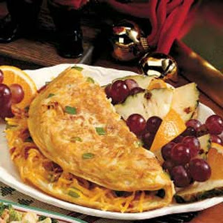 Hash Brown Omelet.