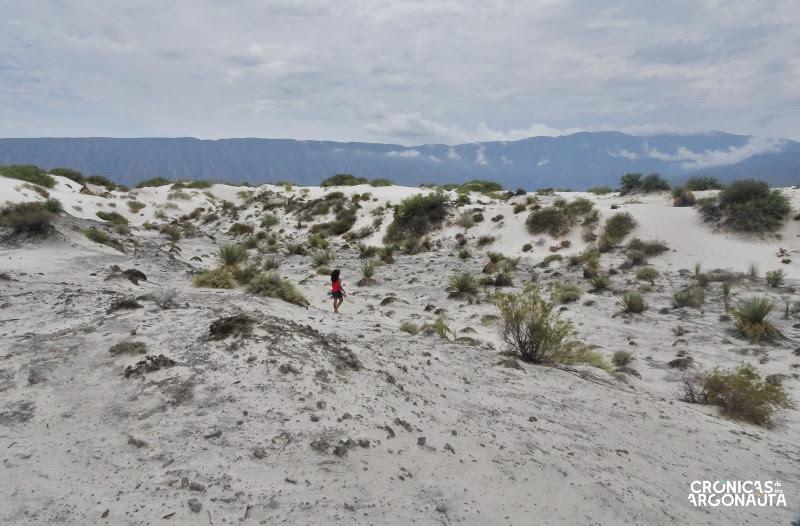 desierto las dunas de yeso