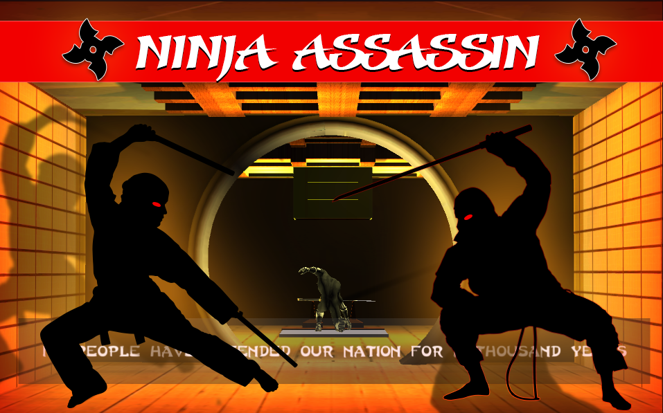 The Ninja Warrior- screenshot