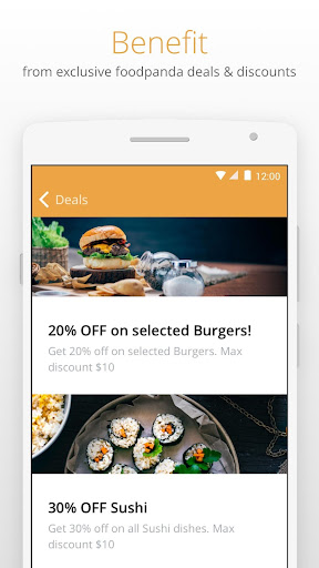 Otlob - Food Delivery 3.6.1 screenshots 3