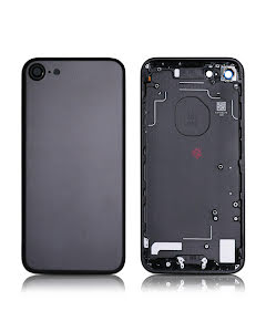 iPhone 7G Back Housing without logo High Quality Black