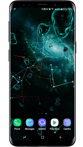 Space Particles 3D Live Wallpaper  screenshots 8