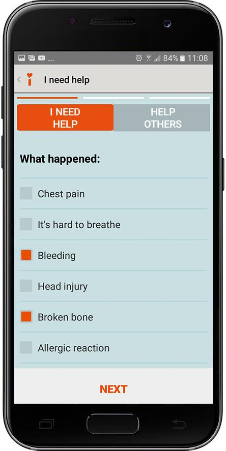 iHELP Personal & Family Safety- screenshot