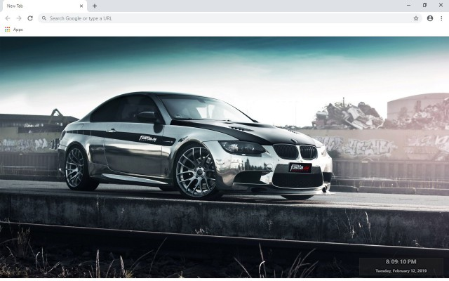 BMW M3 New Tab & Wallpapers Collection