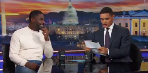 US actor Idris Elba and comedian Trevor Noah combined give interesting comedy.