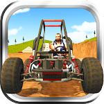 Buggy Stunt Driver Icon
