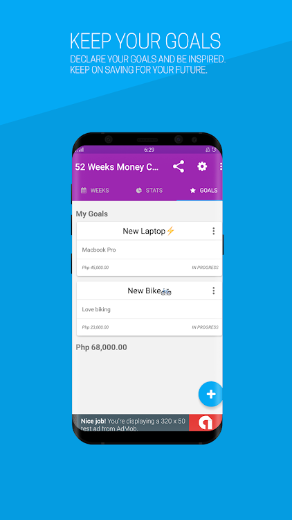 saving money challenge android