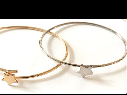 Bracelet fermeture étoile