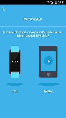 Turkcell Fit - screenshot