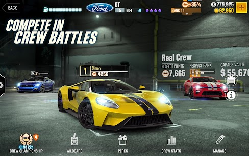 CSR Racing 2 MOD APK (All Cars Unlocked) 4