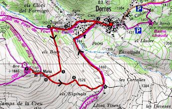 Photo: Carte de randonnées Nº8. Cerdagne - Capcir. 1:50000. IGN propiedad de Institut Geographique National
