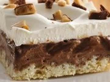 Chocolate-Toffee Ice Cream Squares