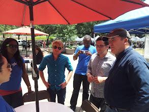 Photo: #SLGT Tour of Houston with Google! Mark Bowen of Urban Harvest Farmers Market.