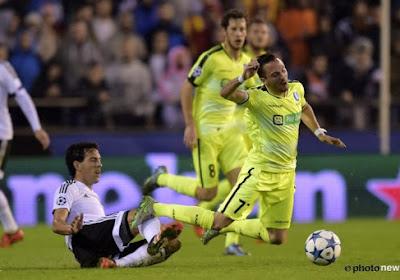 Ligue des Champions : La Gantoise tombe à Valence avec les honneurs (2-1)