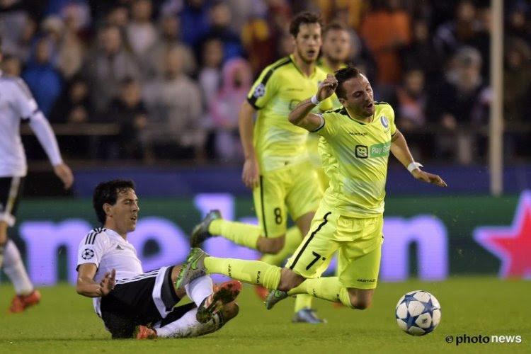 Ligue des Champions : La Gantoise tout proche de l'exploit à la Mestalla