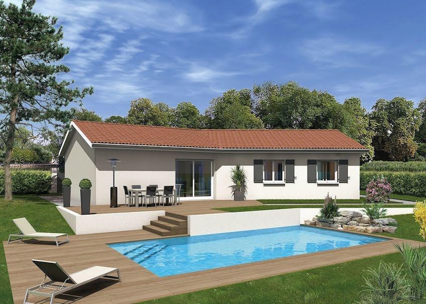 Vente maison 4 pièces 86 m² à Ozan (01190), 191 409 €