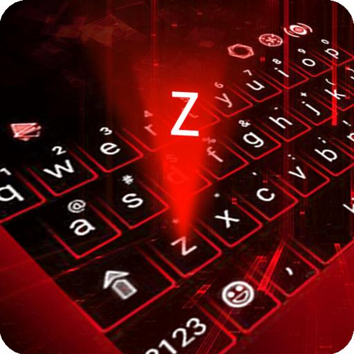 Hologram Neon Keyboard Theme Icon