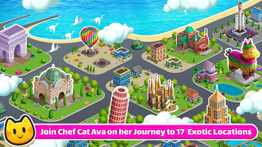 Cooking Games 🔥 Chef Cat Ava 😺 Delicious Kitchen screenshot 3