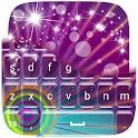 Neon Sunburst Keyboard icon