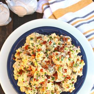 Loaded Bacon Cheddar Baked Potato Salad Recipe