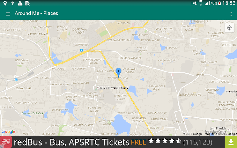 android Around Me - Places (Search) Screenshot 8