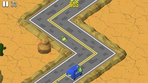 ジグザグカーゲーム