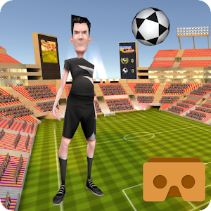 VR Soccer Header for Cardboard for PC and MAC