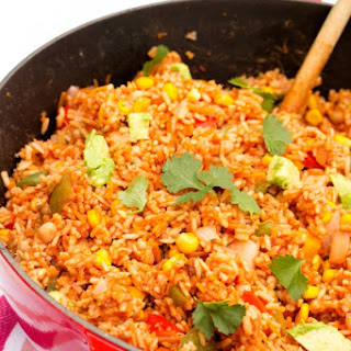 Easy One Pot Mexican Rice.