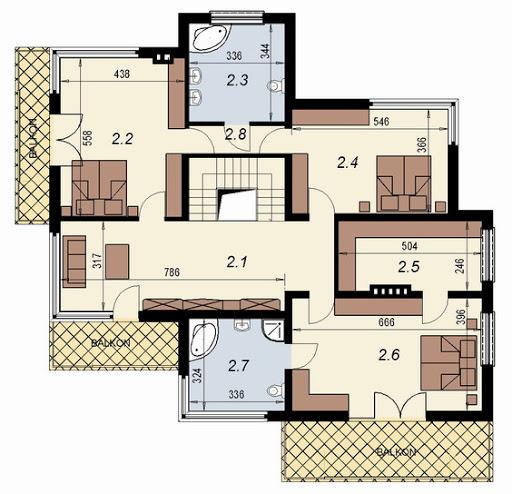 DN 004 - Rzut piętra