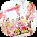 розовый Роза тема icon