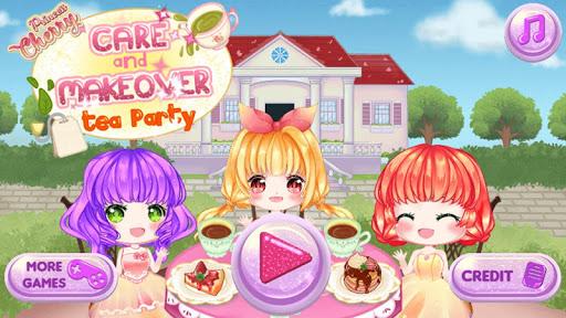 Princess Cherry Anime Care and Makeover: Tea Party 1.0 screenshots 1
