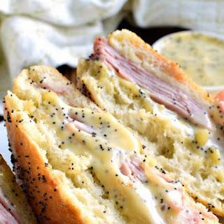 Honey Mustard Ham & Cheese Sandwich.
