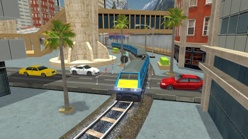 Euro Train Racing 3D screenshot 9