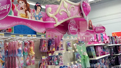 Photo: I was so happy I didn't bring my daughter because the selection of Disney Princess toys and accessories would have had her asking me to put everything on her list for her birthday.